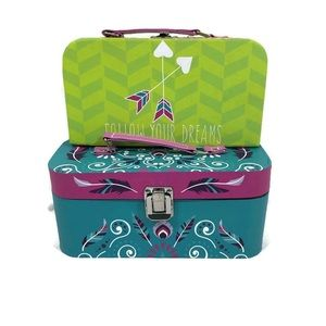 2 Brand New Decorative Boxes with Handles